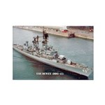 USS DEWEY Rectangle Magnet