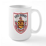 USS DEWEY Large Mug
