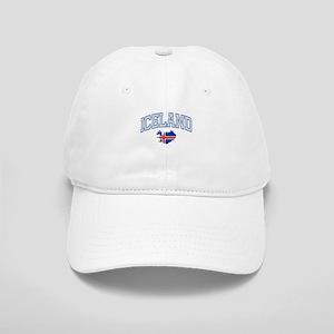 Iceland Map English Cap