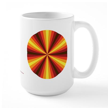 Fall Illusion Large Mug