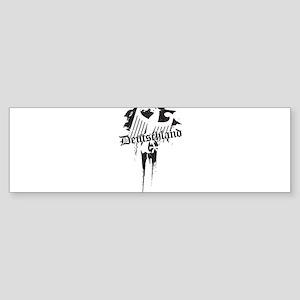 Deutchland grungy Sticker (Bumper 10 pk)