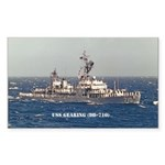 USS GEARING Sticker (Rectangle)