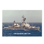 USS GEARING Postcards (Package of 8)