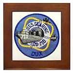 USS GEARING Framed Tile