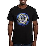 USS GEARING Men's Fitted T-Shirt (dark)