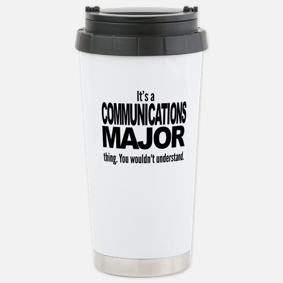 Communications Travel Mug