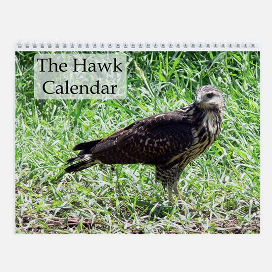 The Hawk Wall Calendar