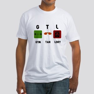 Gym Tan Laundry Fitted T-Shirt
