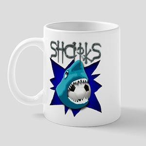 Soccer Team: Sharks Mug