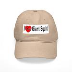 I Love Giant Squid Cap
