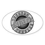 Weekend Warrior Sticker (Oval)