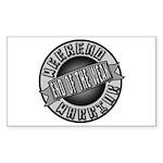 Weekend Warrior Sticker (Rectangle)