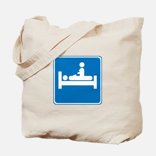 Lodging For Two Tote Bag