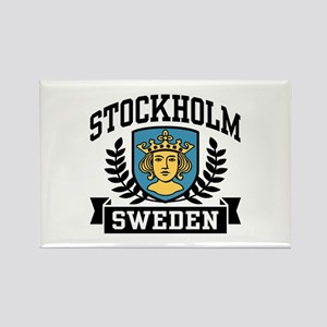 Stockholm Sweden Rectangle Magnet