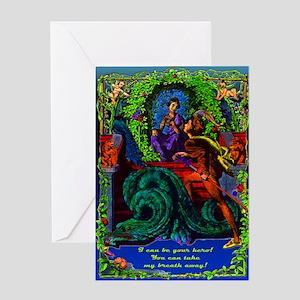 Greeting Card be your hero, Dragon Tamer