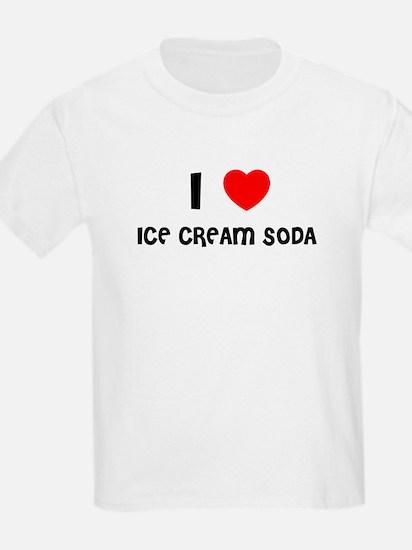 I LOVE ICE CREAM SODA Kids T-Shirt