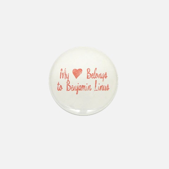 Heart Belongs Ben Linus Mini Button