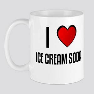 I LOVE ICE CREAM SODA Mug