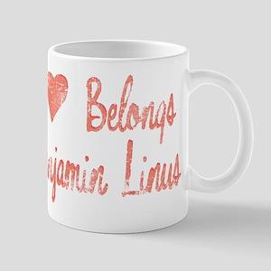 Heart Belongs Ben Linus Mug