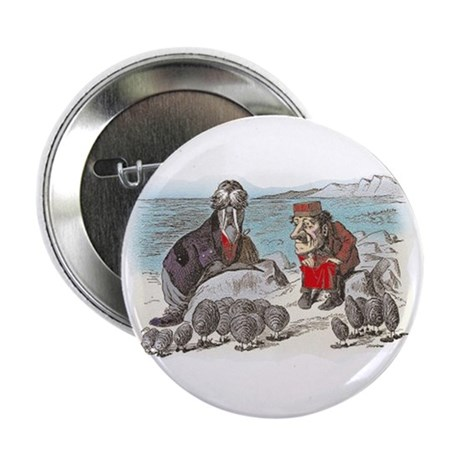 """The Walrus and the Carpenter 2.25"""" Button (100 pac"""