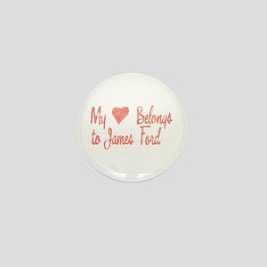 Heart Belongs James Ford Mini Button