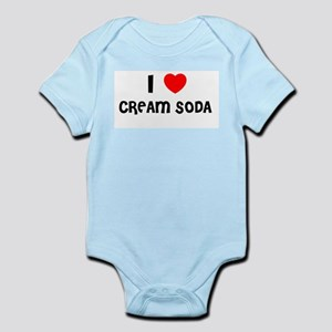 I LOVE CREAM SODA Infant Creeper