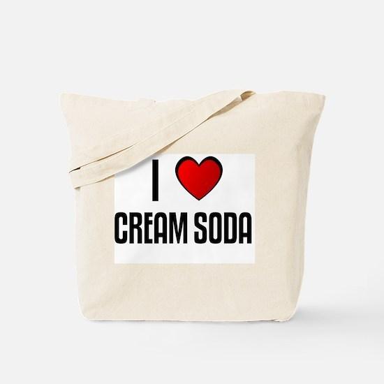 I LOVE CREAM SODA Tote Bag