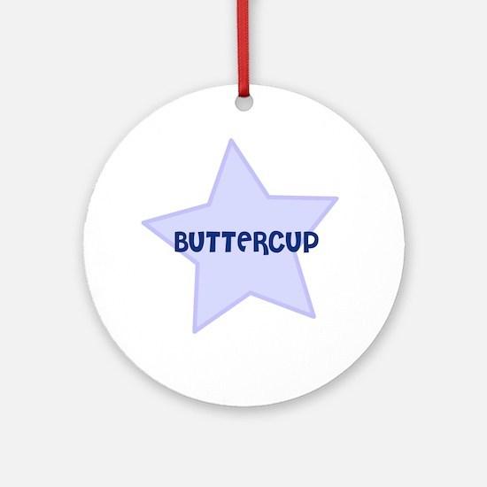 Buttercup Ornament (Round)