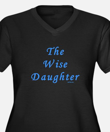 The Wise Daughter Passover Women's Plus Size V-Nec
