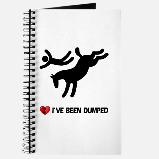 Dumped by my horse! Funny Journal