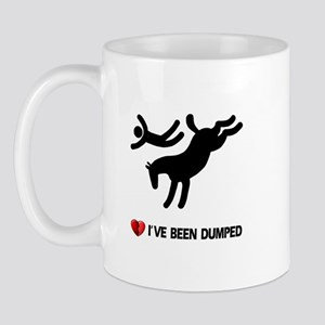 Dumped by my horse! Funny Mug