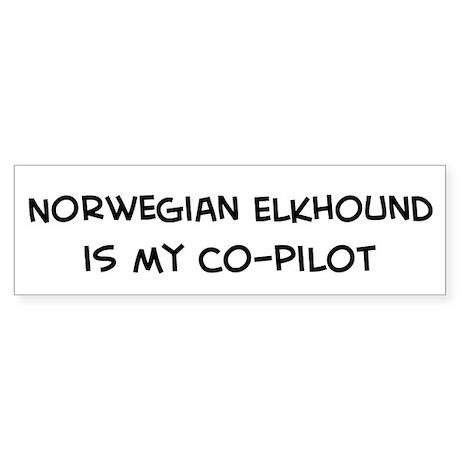 Norwegian Elkhound Bumper Sticker