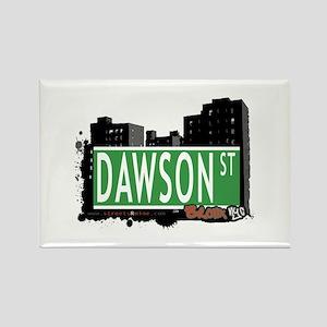 Dawson St, Bronx, NYC Rectangle Magnet