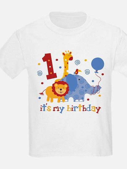 Safari 1st Birthday T-Shirt