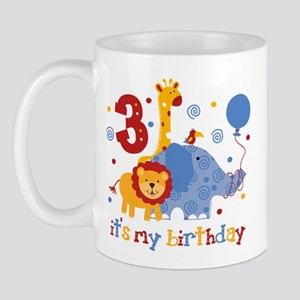 Safari 3rd Birthday Mug