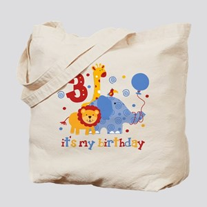 Safari 3rd Birthday Tote Bag