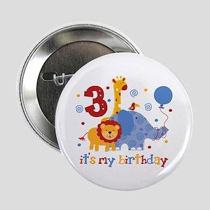 """Safari 3rd Birthday 2.25"""" Button"""