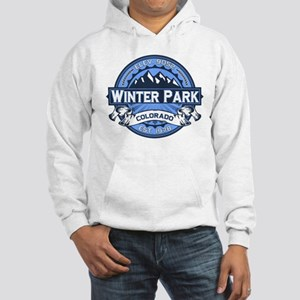 Winter Park Blue Hooded Sweatshirt