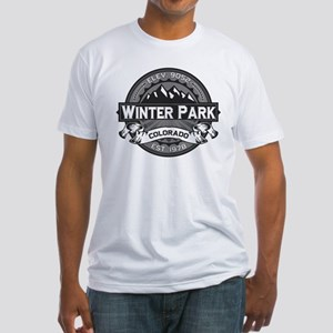 Winter Park Grey Fitted T-Shirt