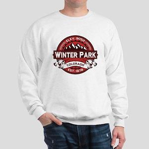 Winter Park Red Sweatshirt