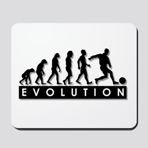 Evolution of a Soccer Player Mousepad