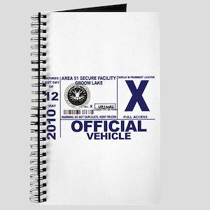 Area 51 Parking Pass Journal