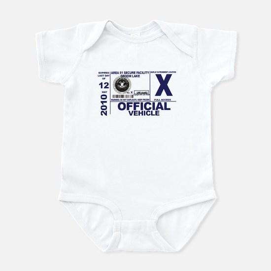 Area 51 Parking Pass Infant Bodysuit