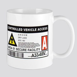 Area 51 Controlled Parking Pa Mug