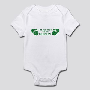 Luckier than Hurley Infant Bodysuit