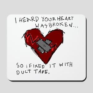 Broken Heart Mousepad
