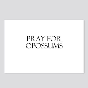Pray For Opossums Postcards (Package of 8)