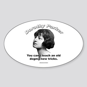 Dorothy Parker 01 Oval Sticker