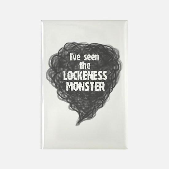 Lockeness Monster Rectangle Magnet