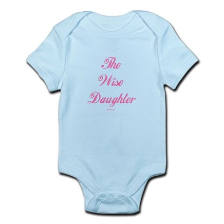 The Wise Daughter Passover Infant Bodysuit